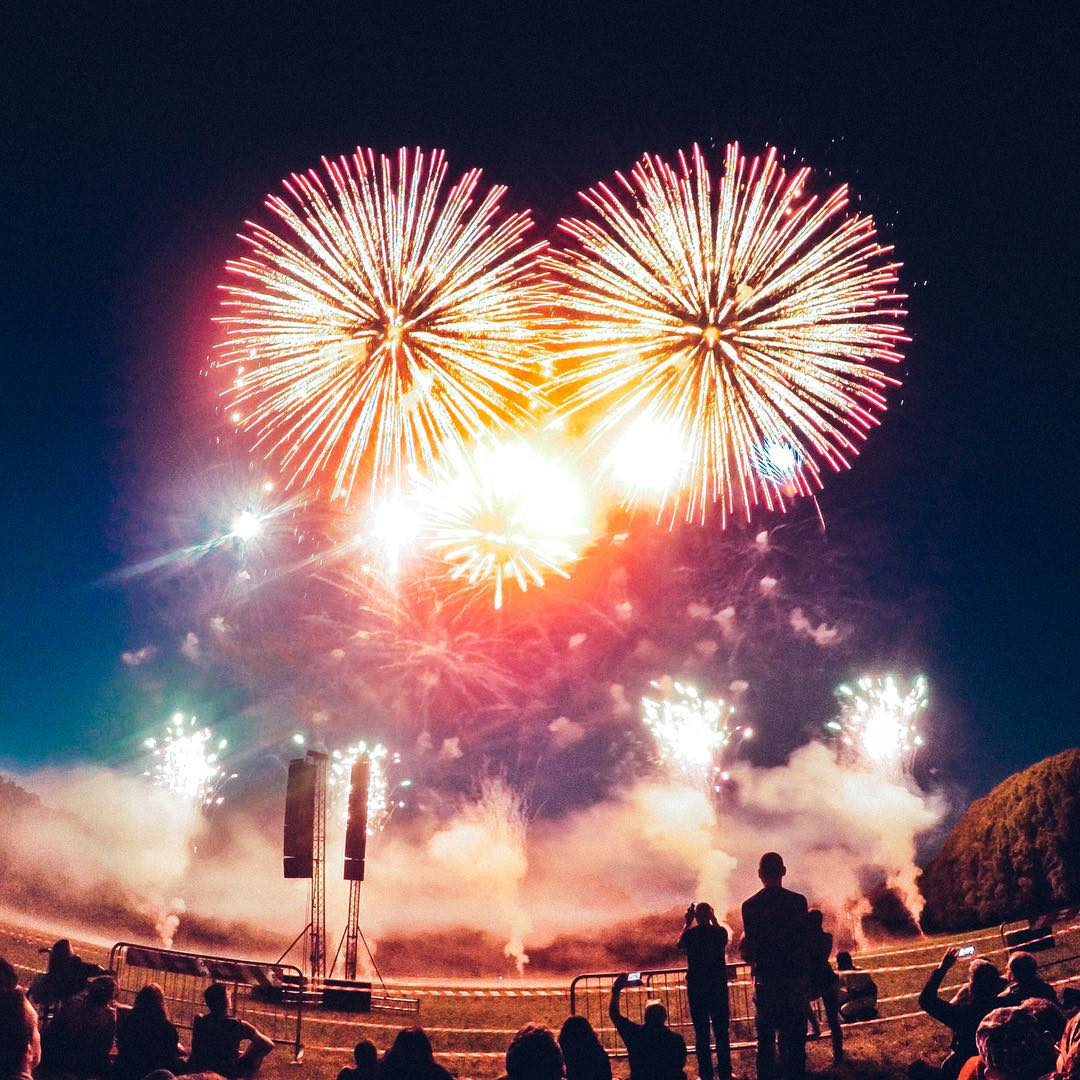 Photo of the Day! Fireworks in the park. Have a safe and happy 4th of July! Photo by Matteo Colombo. #GoPro #4thofJuly