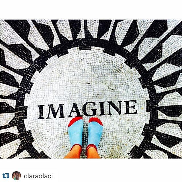 #Repost @claraolaci with @repostapp. ・・・ -IMAGINE- @tiendasuarez en NY
