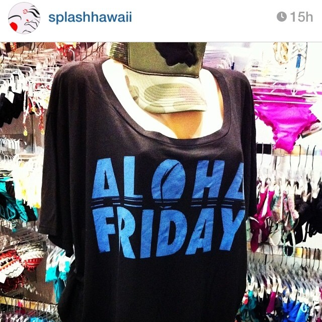 @splashhawaii has #Organik clothing in stock at the #alamoana location @alamoana. #ecofriendly #tees #organic cotton #dontpanicitsorganik #supportlocal #local #hawaii #repost #regram