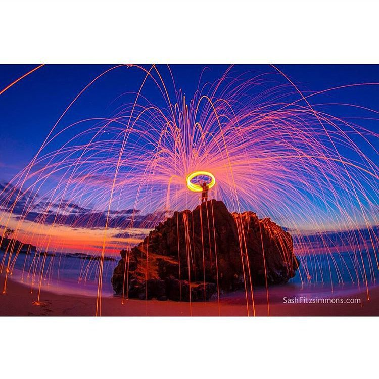 "All of us here from noRep Boardshorts hope you're all having a fun and safe Fourth of July! Here's a shot from Activist @sf_photos_hawaii having fun with a different kind of ""fireworks""!"