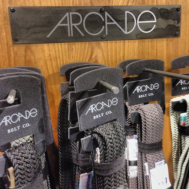 Fired up to see our buddies from @arcadebelts at #sia14 | Tahoe in Denver