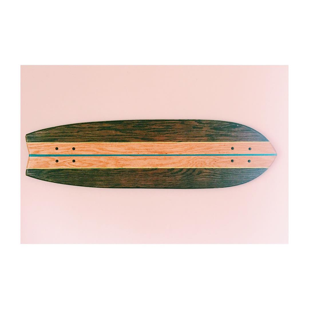 Our first longboard ever. Last day for $25 off orders of $125 or more. Use code LIBERTY at checkout. #handmadeskateboard #skate #Nashville