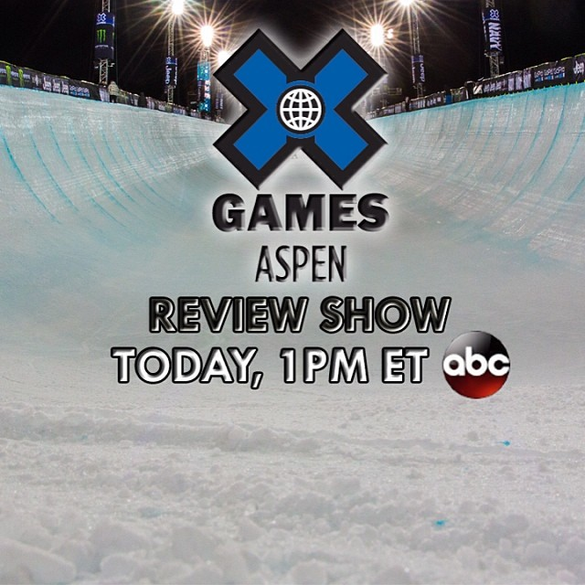 Time to look back at all things #XGames Aspen! Catch the official recap show today at 1pm ET on ABC.