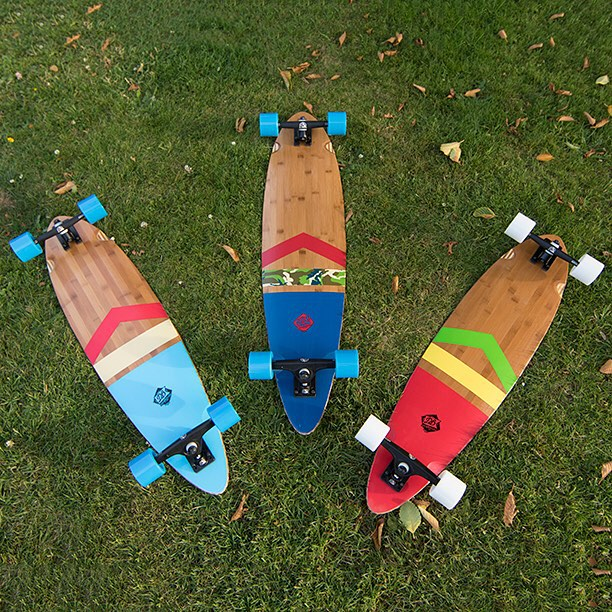 The Perfect summer cruiser: The Anthem. Available in two sizes and three different designs. #pintail #rasta #longboard #longboarding #longboarder #dblongboards #goskate #shred #rad #stoked #skateboard #skateeveryday