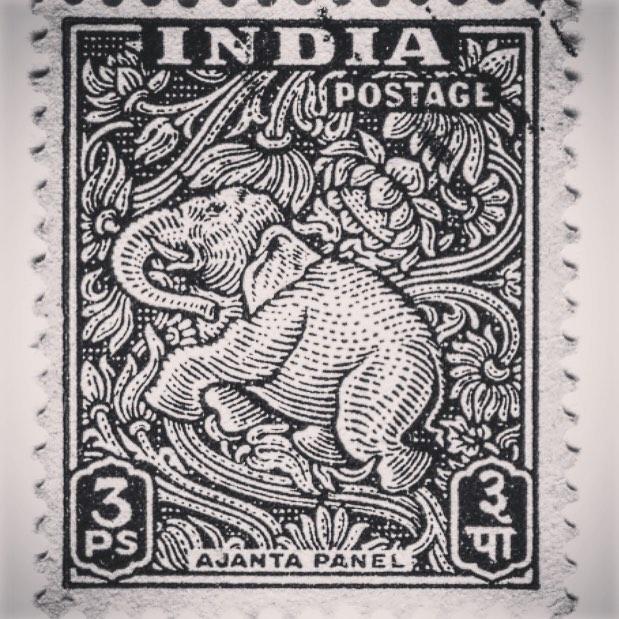 #postoffice #elephant #elefante #estampilla #indianstyle @elephantindumentaria #jointheherd #elephantindumentaria