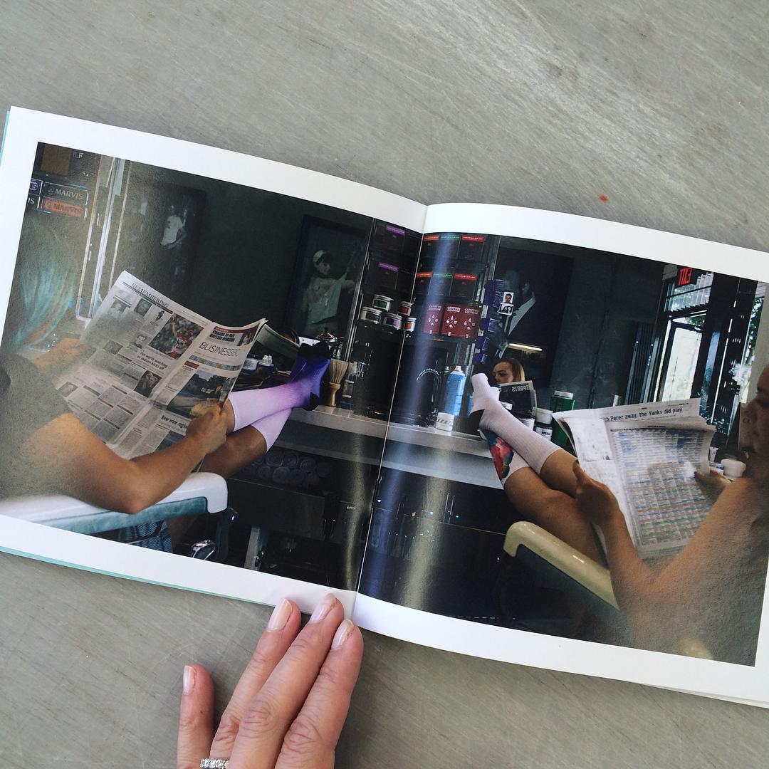 Kicking back... @lanceyfresh and@madyline_ae during our XS Socks catalogue shoot @barberandco last week . #workinit #xshelmets #XSsocks #forgirlswhoshred #skatelikeagirl