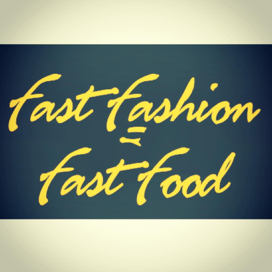 It's well known that fast #food uses chemicals, materials & conditions that harm our bodies, animals & environment. Well...fast #fashion is the same. We believe that the fashion industry can & should do better, which is why we are committed to using...