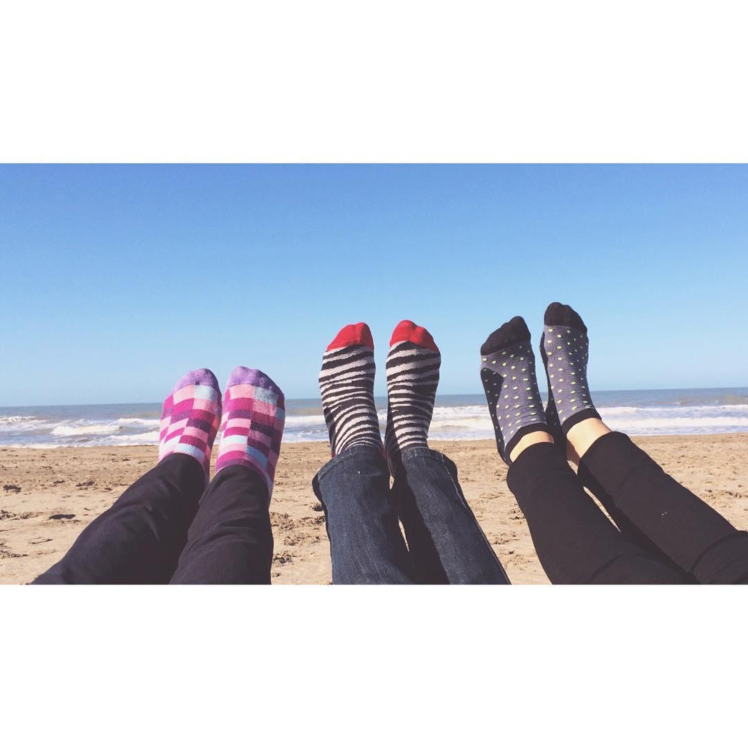 #MediasConOnda #FindeConOnda #Carilo #ConFrioALaPlaya #style #socks #friends
