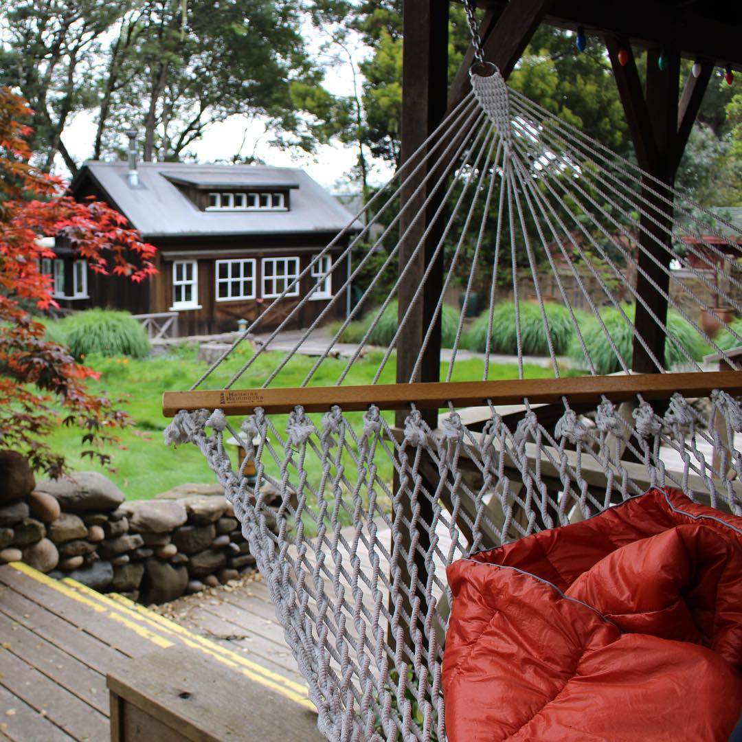 Fantasizing about this hammock today ....
