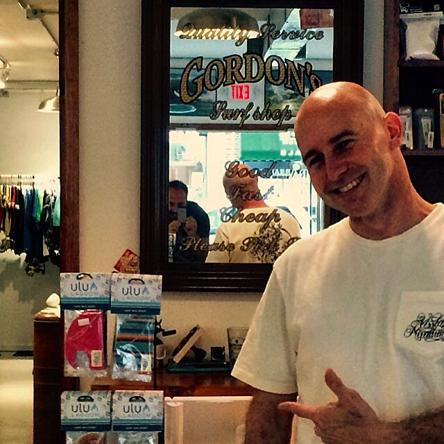 Check out Gordo at the New Gordon's Surf Shop in Pt. Pleasant, NJ where you can find all the goods from #uluLAGOON #yeahgordo #nj #surfshops #pointpleasant #gordo