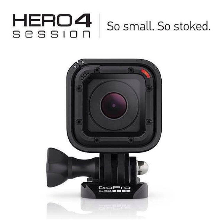 We waited 9 years and it's now here! 50% smaller & 40% lighter! #Hero4Session #gopro