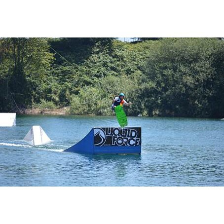 "Liquid Force founder Tony Finn gets some air at @valleywakepark this past weekend! ""Beautiful lake, great features, cool people, nice vibe………… Everybody should definitely go to this park when they have the chance!"""
