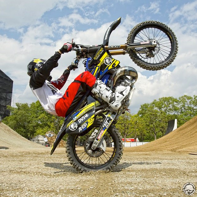Who's ready for @RedBullXFighters #Madrid this wknd? @RobAdelberg | #TwoStrokeTuesday