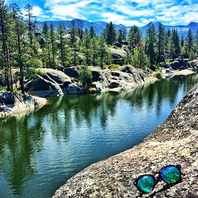 Dippin' in Dipseas. Great shot from @lauralisowski adventuring in the Sierras!
