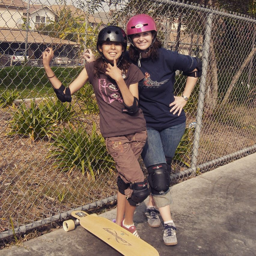 Who's up for a skate? @loadedboards #summer #skate #skatergirls #skateboard #skateboarding #loadedboards #longboard #sk8 #fun #friends #community #youth #mentor #volunteer #makeadifference #losangeles #la #citylife #triple8 #skateboardingisfun #smiles...