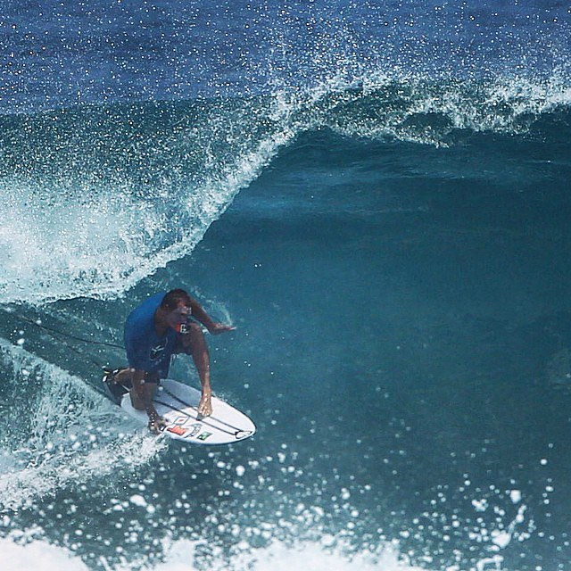 Wardo in Indo.  Matt @mayhemb3_mattbiolos Biolos is in Indo too.  He is in Bali taking custom orders at the Rip Curl Shop on Sunset Rd. this Saturday and Sunday July 10th and 11th from noon til four.  Tradeins accepted toward new boards.