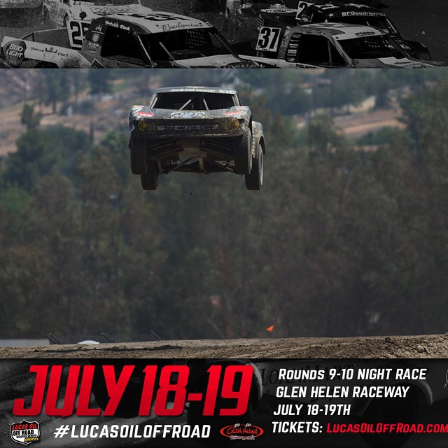 Come watch the night races July 18-19 at glen helen raceway . @rockstarenergy @lucasoiloffroad #Glenhelenmx #offroad #Deegan38
