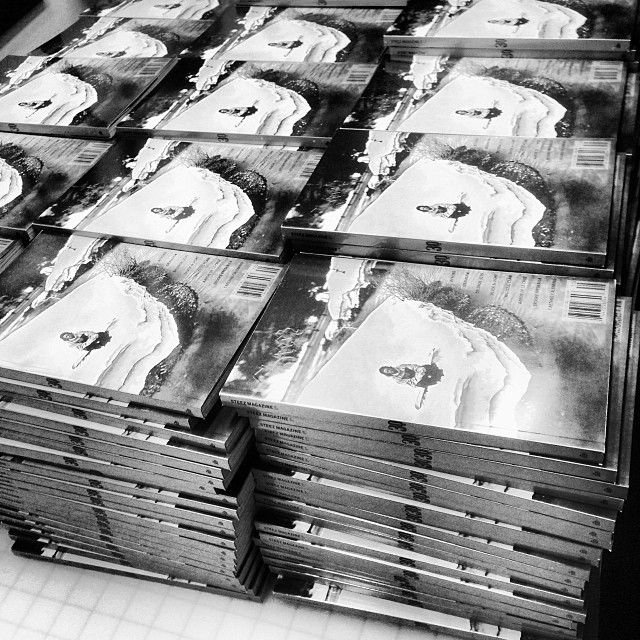 Stacks on stacks of #issue30 #steezmagazine @silverandlight every issue comes with a 30th die cut. #ianruhter #alekoestreng