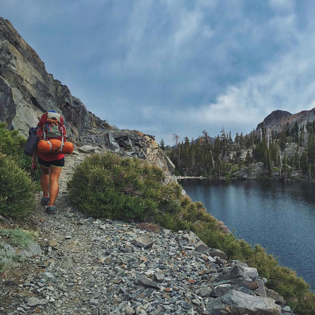 """I came to life in the cool winds and crystal waters of the mountains"" -John Muir. Rad photo and inspiration from @tlsylvan at Heather Lake in CA! #radparks"