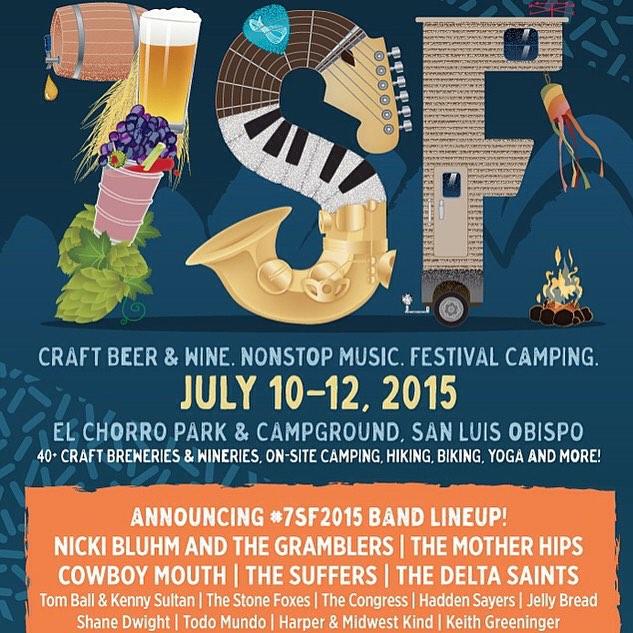 Looking forward to exhibiting @sevensistersfest in San Luis Obispo this weekend! Bikinis + Craft Beer + Music = FUN!