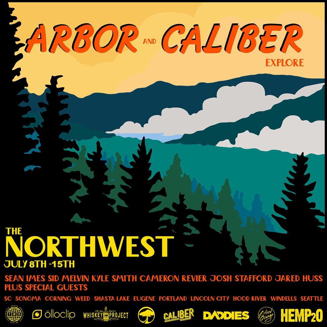 And we're off! The #caliberstandards team and @arborskateboards #whiskeyproject will be touring the #northwest July 8th till July 16th. Come skate with us!  JULY 8th - Sonoma  JULY 9th - Klamath/Bend JULY 10th - Eugene/Portland JULY 11th - Seattle...