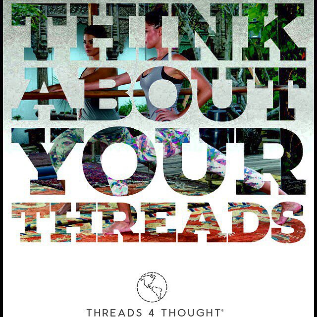 Every time you buy a product or brand, you make a #choice & cast a #vote. By purchasing a #threads4thought product, you are voting for products that help to improve our #planet & move the #fashion industry towards a healthier future for us all ♻️