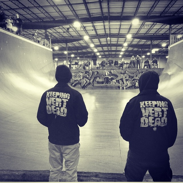 Regram @demonseedskateboards @richpayne666 #supersessions #keepingvertdead