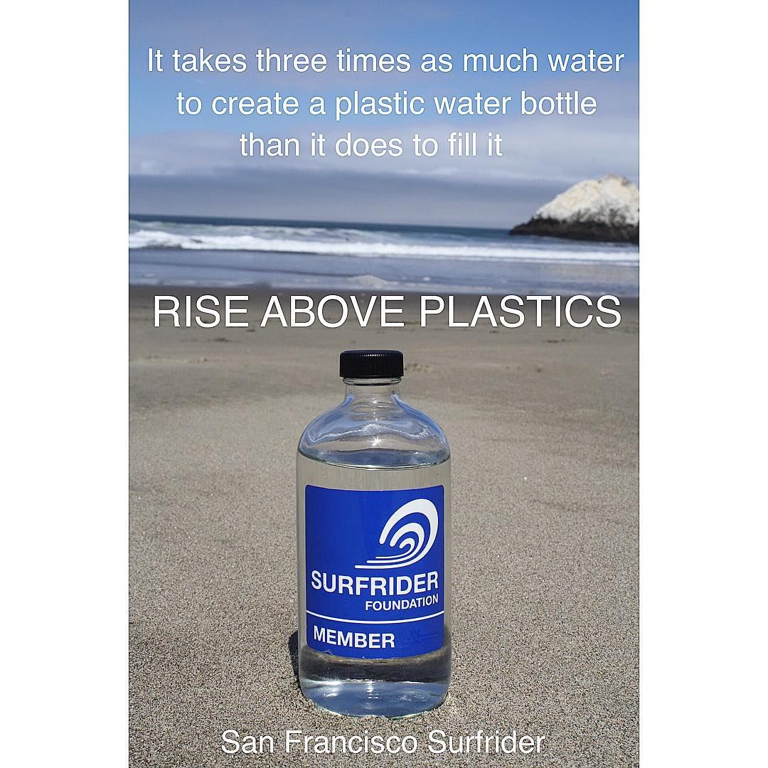 Join us in supporting our Santa Cruz Surfrider Chapter's @treyhighton by signing their petition, urging the CA state government to mandate graphic environmental warning labels on single-use plastic water bottles. petition link in his profile....