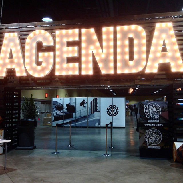 We're out here at @agendashow! Come by our booth if you're in town, we're not hard to find #agendashow