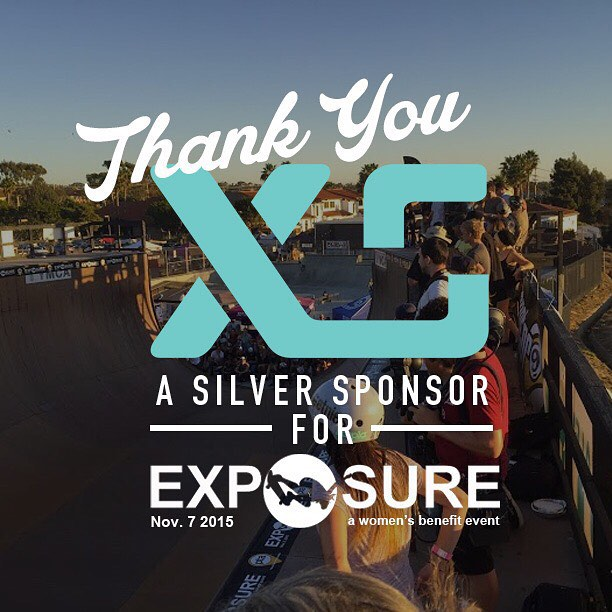 Thank you to @xshelmets confirmed to be a silver sponsor for Exposure 2015!! There are plenty of partnership opportunities still available, email partnerships@exposureskate.org to find out how you can help empower girls through skateboarding!