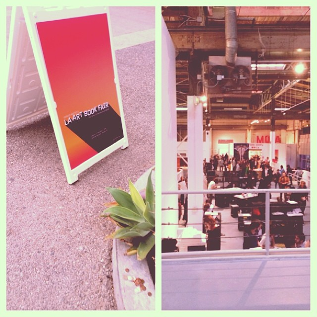 Cruisin thru the LA Art Book Fair at the  Geffen Contemporary. #finefarts #printprintprint #longliveprint #littletokyo #trendypeople #hashtag #whatisasuperbowl #printedmatter #highbrow #zineoverload