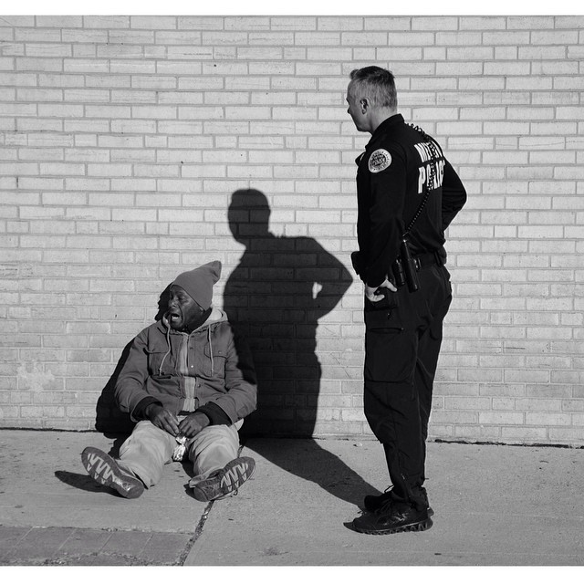 Nashville cop was taken on the streets by @timshootsppl and featured in issue 35. #steezmagazine #steez #nashville #tennessee #nashvillepd #police #cop #homeless #issue35