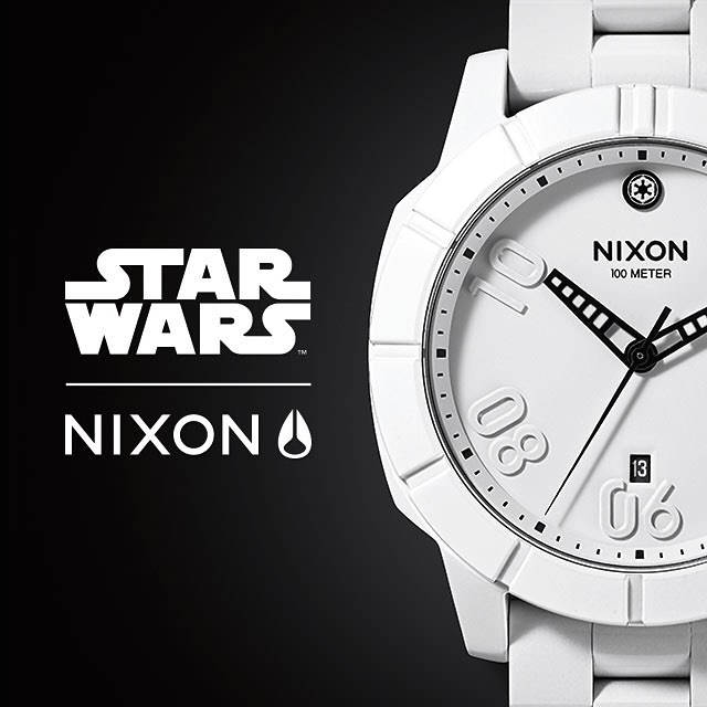 In celebration of the internationally recognized Comic-Con International, the STAR WARS™ | Nixon Ranger in #Stormtrooper White and #ImperialPilot Black will be available in limited quantities beginning July 8 on Nixon.com and on-site at #ComicCon, San...