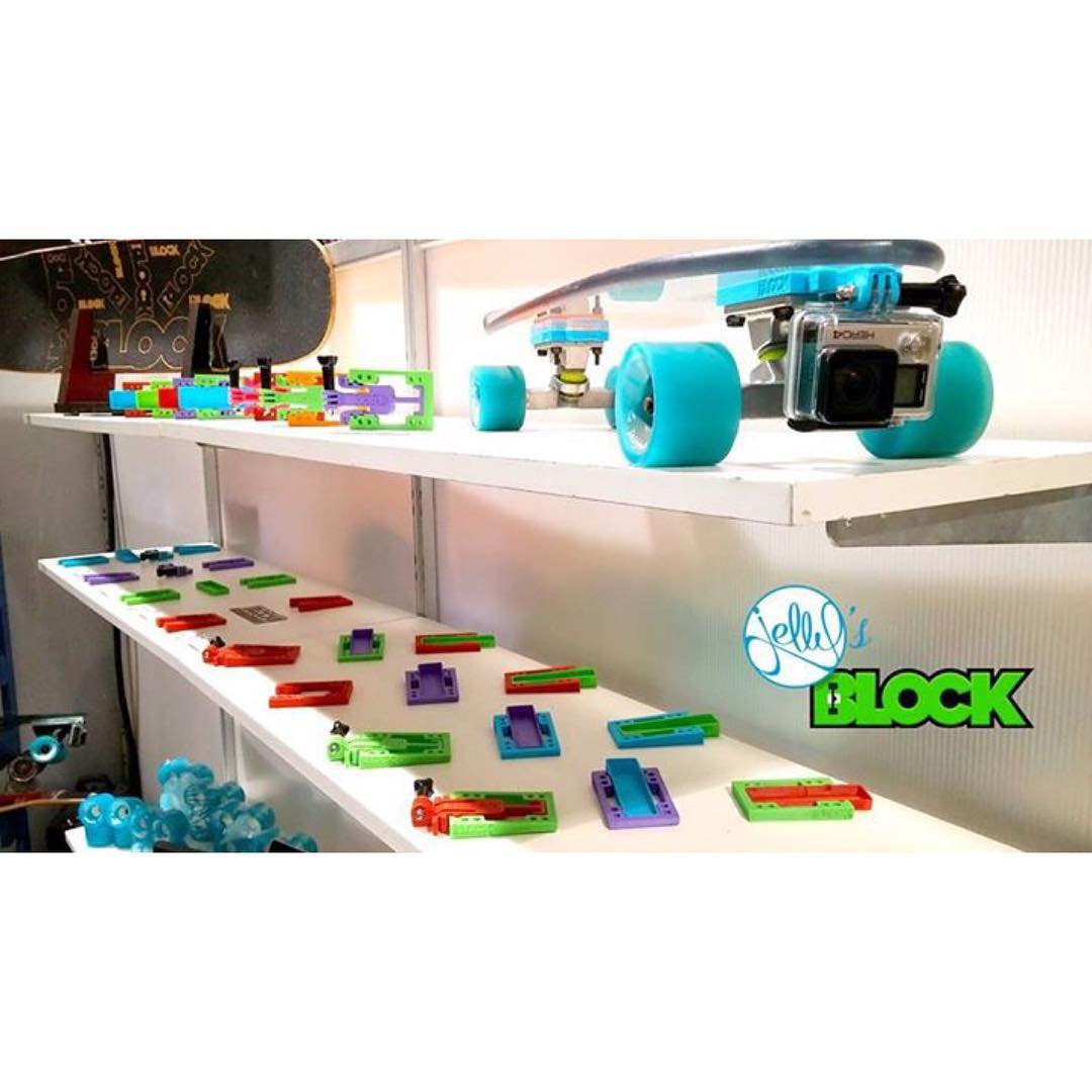 2 days left to score on the best pricing we will ever have!! All products 55% off at www.jellysblock.com! #jellyskateboards #blockrisers #indiegogo #agendashow