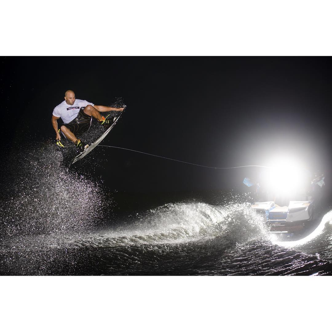 Hoven #wakeboard Ambassador @chad_lowe can't stop, won't stop!