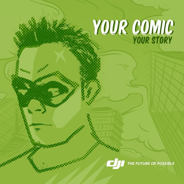 Create your comic at the San Diego Comic Con at the #DJI boat. Meet illustrators like Steve Lieber, Zeb Wells, Ben West and the guys from @CorridorDigital.  #IamDJI #SDCC #SDCC2015