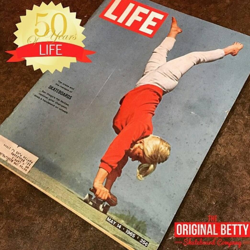 #tbt goes to the one and only @pattimcgee @originalbettyskateco  #tbtskateboarding #femaleshredders #femaleriders #womenofhistory #skatelife #skateboarding #ride #supportyourriders #throwback #life #live