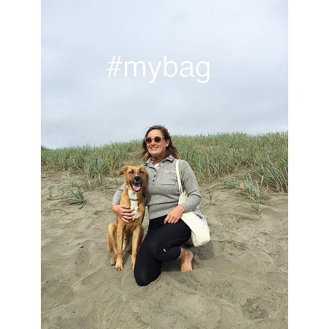 Single-use plastic bags pollute our waterways & beaches and are a grave threat to native habitats & wildlife. Ocean Beach locals Scout & Naomi (our SF Surfrider Educator) protect their home break by using a reusable bag to #riseaboveplastics. Join the...