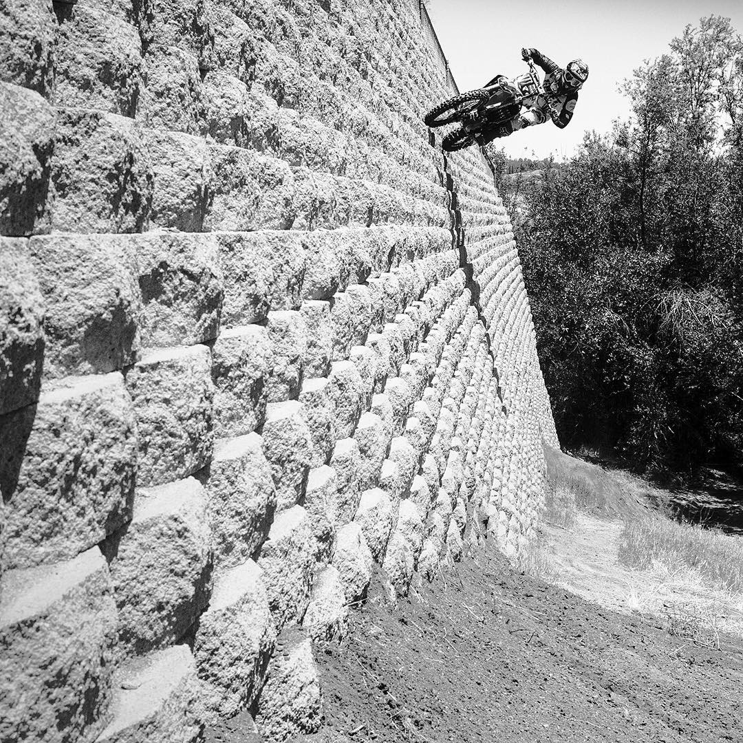 Black and white is beautiful!  Click the link on our profile page to check out our favorite action sports photos sans color. (