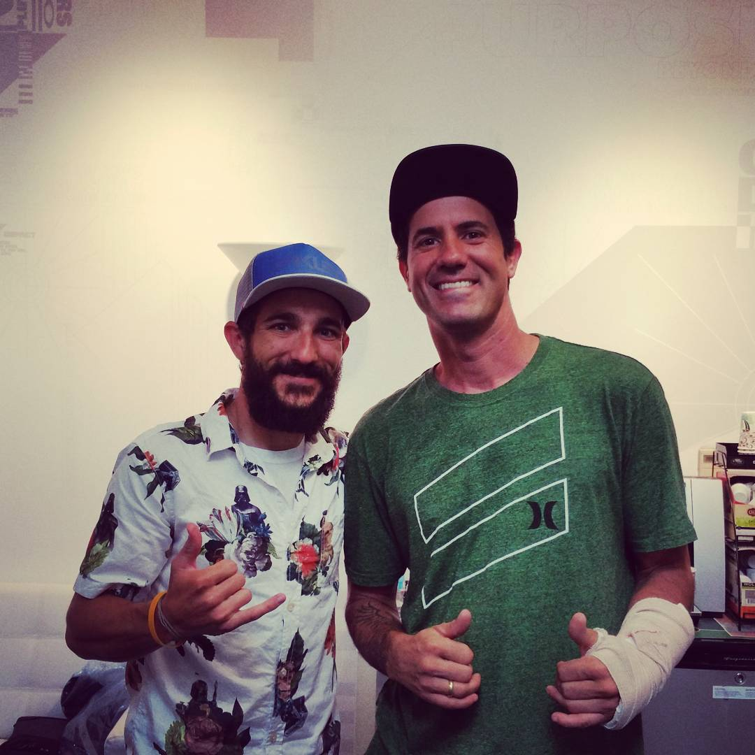 #TBT That time The Man, The Myth, The Legend @bobburnquist came to HQ. #legend