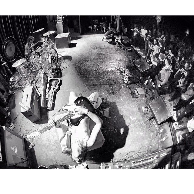 Awesome @mikesudomaphoto from issue 35. #steezmagazine #issue35 #behindthescenes #backstage #livemusic