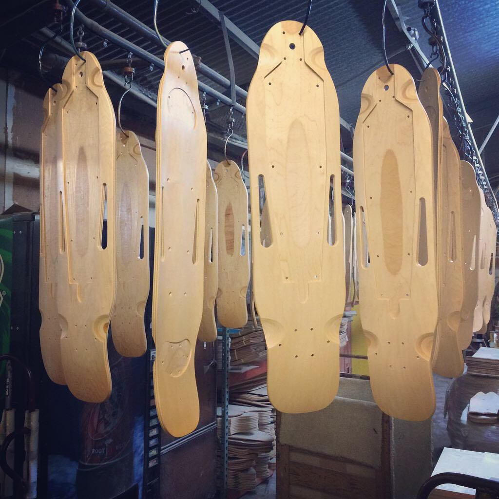Hanging out with our first batch of ZBoard 2 production decks #zboard