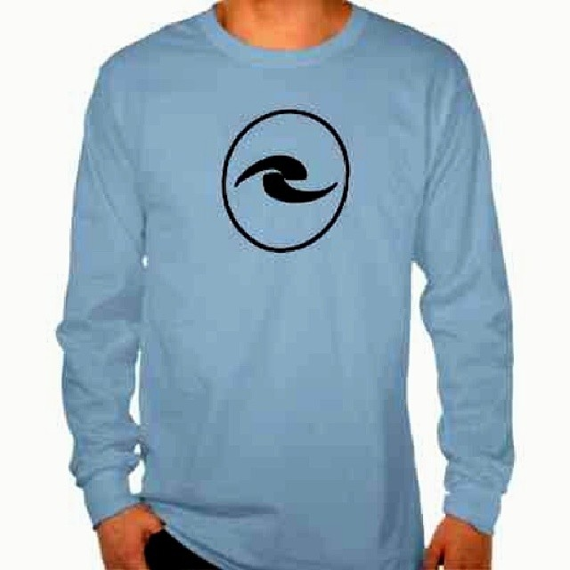 Blue Logo Long Sleeve Tee. Can be found on www.rollerinnovations.com  #surf #snow #skate #surfing #snowboarding #skatboarding #appearal #clothing #roller #innovations #rollerinnovations #eastcoast #westcoast #hawaii #california #newjersey #jersey...