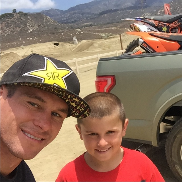 Moto day with jr @dangerboydeegan at the track. No replacement for hard work and practice. Can't cut corners in life .  It's funny how people ask how did he get so fast or how did u make it. Hard work nonstop grind every day all day no days off....