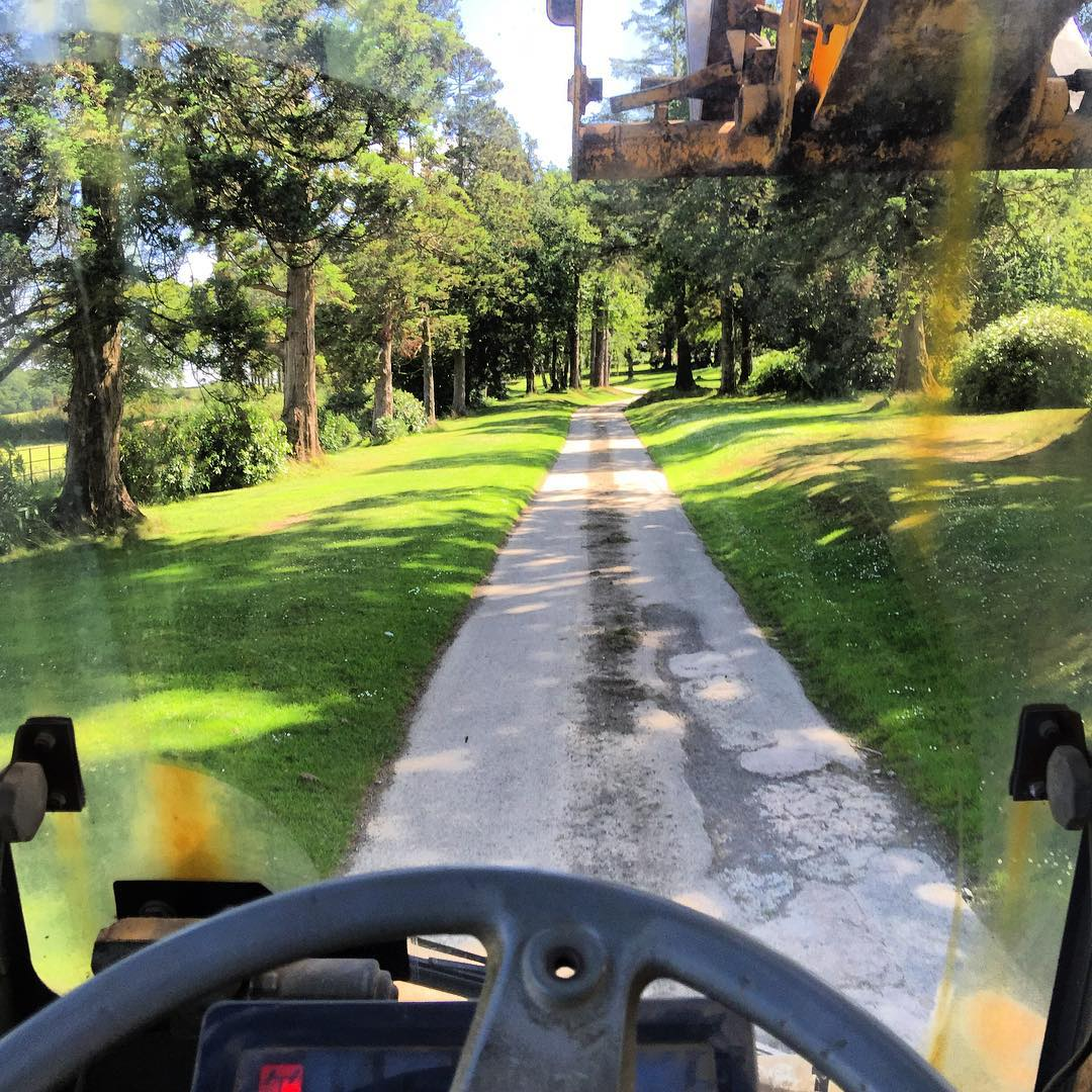 My morning commute today, the struggle is real!! Enjoying the Summer at home for a bit while the RX championship is on a summer break.