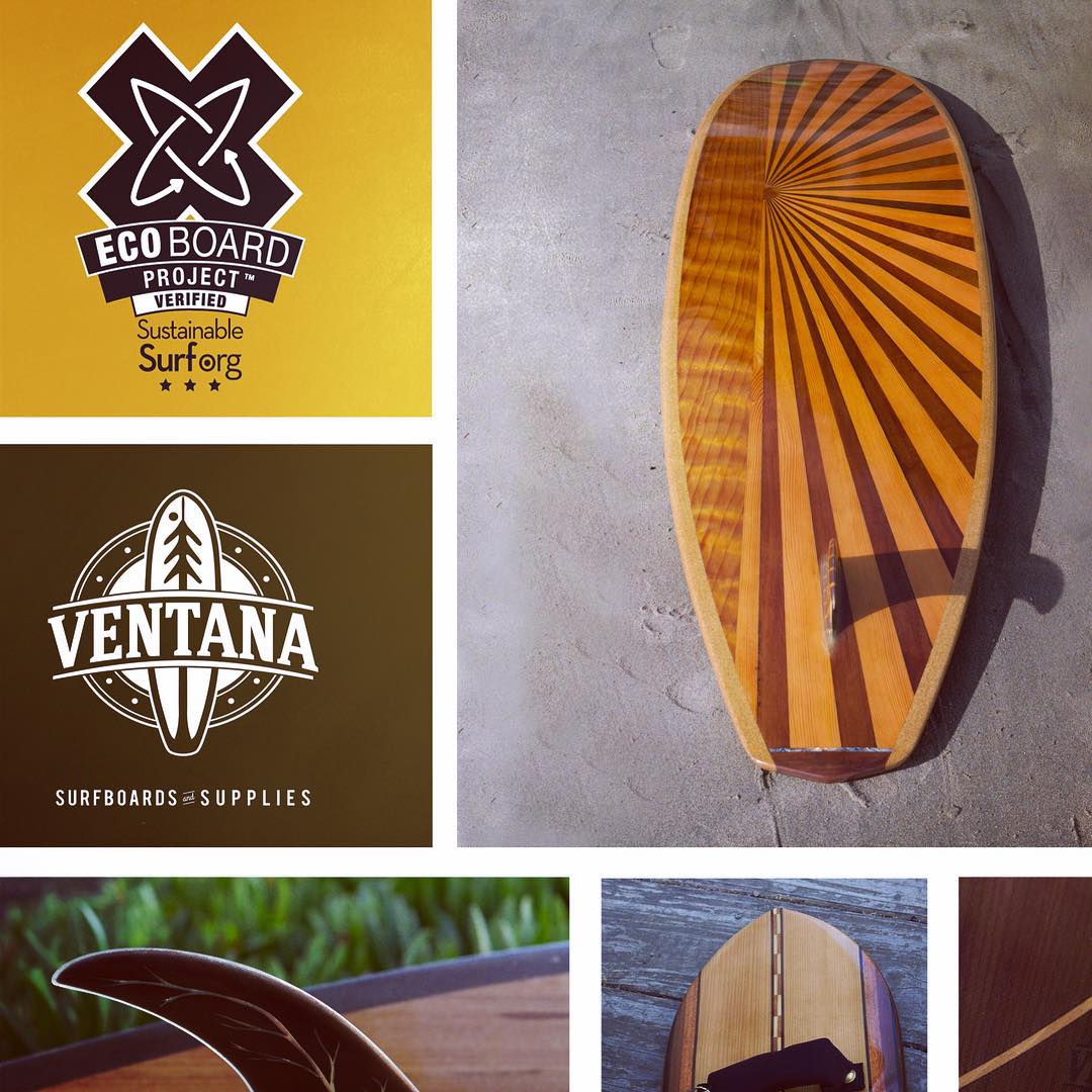 "We ""wood"" like to introduce our latest #ECOBOARDproject partner @ventanasurfboards , builders of some of the finest looking hollow wooden surfboards we've ever seen. --- Crafted in Santa Cruz Ca, these boards are hyper locally sourced from reclaimed..."