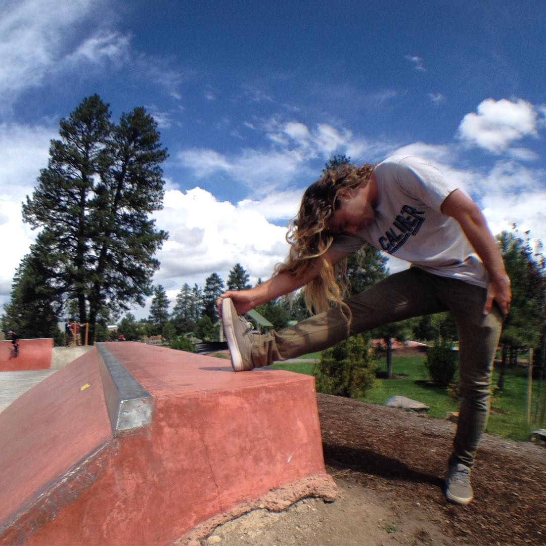 Stretching it out in Bend, Oregon! @camrev33 #SK8NORTH #olloclip #caliberstandards shot on @olloclip