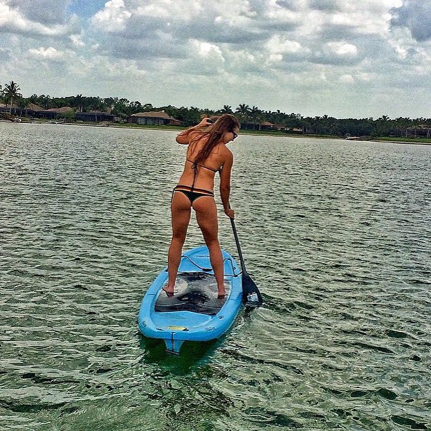 Summer is... every day on the water    @westbutt in our Casita Boythong    #getoutthere #getweteveryday #supgirl #supkini #supeverydamnday #summeris