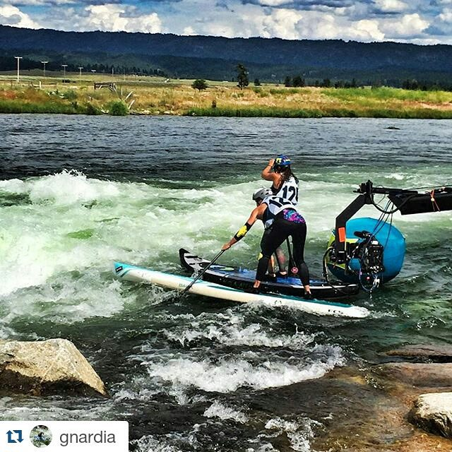 #Repost from Hala Gear athlete @gnardia ・・・ Tune in tomorrow to CBS Sports, Noon (EST) 9am (Pacific) to watch the @payetterivergames !!! #prg15 #payetterivergames #supracing #supcross #supcarnage #wernerpaddles #distressedmullet #theweeklyinsta...