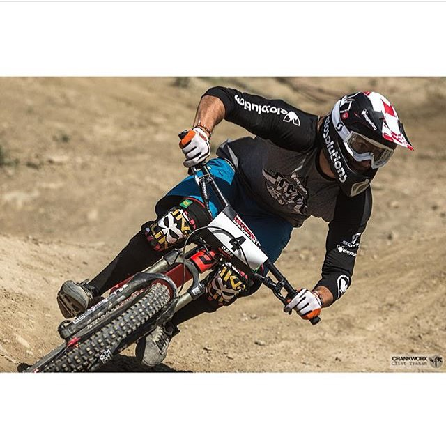 Congrats to Frenchie Adrien Loron on a hard fought 3rd place today at the @crankworx Le Alps 2 Speed and Style!
